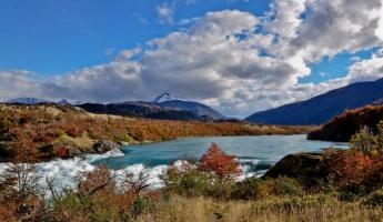 Beautiful Scenery near Aysen, Chile