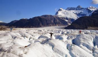 The Glacier Exploradores near Aysen, Chile