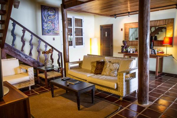 The welcoming lounge at Sagu Mini Resort