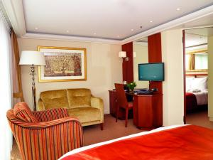 Stateroom Suite aboard the AmaLegro.