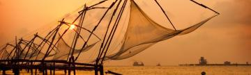 The fishing nets of Kochi