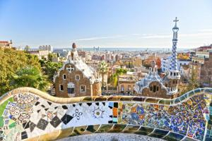 Unique houses designed by Gaudi