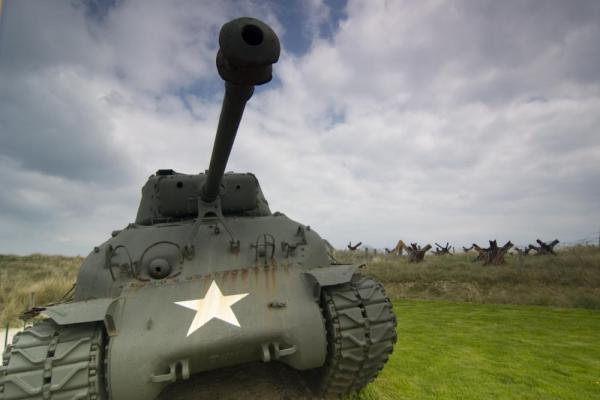An Allied Battle Tank from WWII