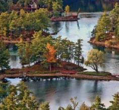 Visit Canada\s beautiful Thousand Islands during your Great Lakes luxury cruise