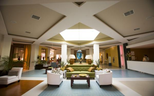 Relax in the lobby at Pestana Sao Luis