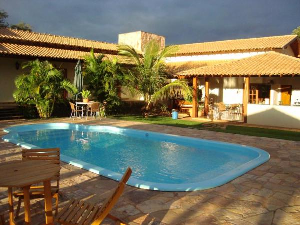Relax by the pool at the charming Pousada Surucua