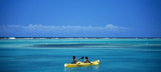 Kayak the tranquil tropical waters of Belize