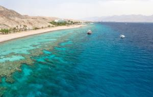 Cruise the crystal waters of the Red Sea