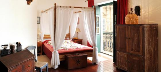 Your spacious suite at Pousada Villa Bahia