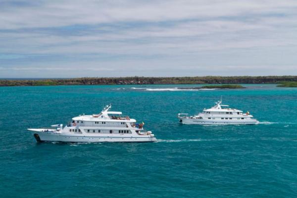 Sail the Galapagos archipelago on the Corals