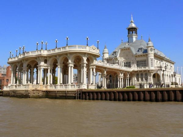 Stunning traditional architecture in Tigre, Argentina