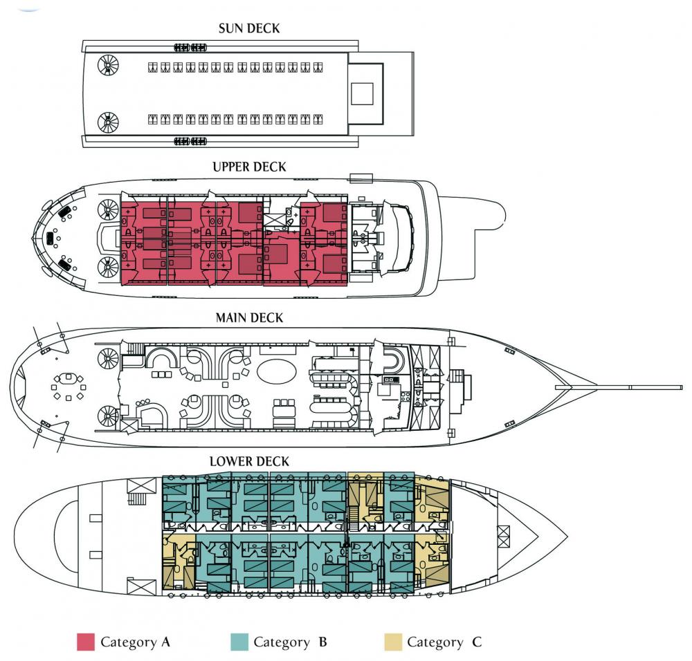 Galileo deck plan.