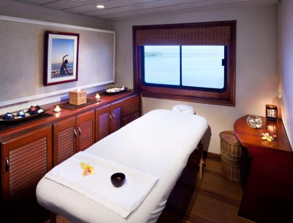 Enjoy a luxurious spa aboard the Safari Voyager.