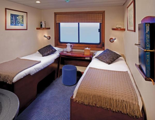 Master Stateroom aboard the Safari Voyager.