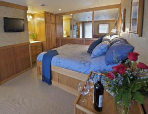Safari Explorer's Captain Stateroom