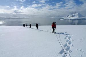 Mountaineering in the arctic