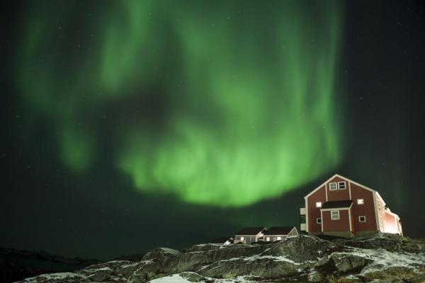 Enjoy the beauty of Aurora Borealis while touring the arctic.