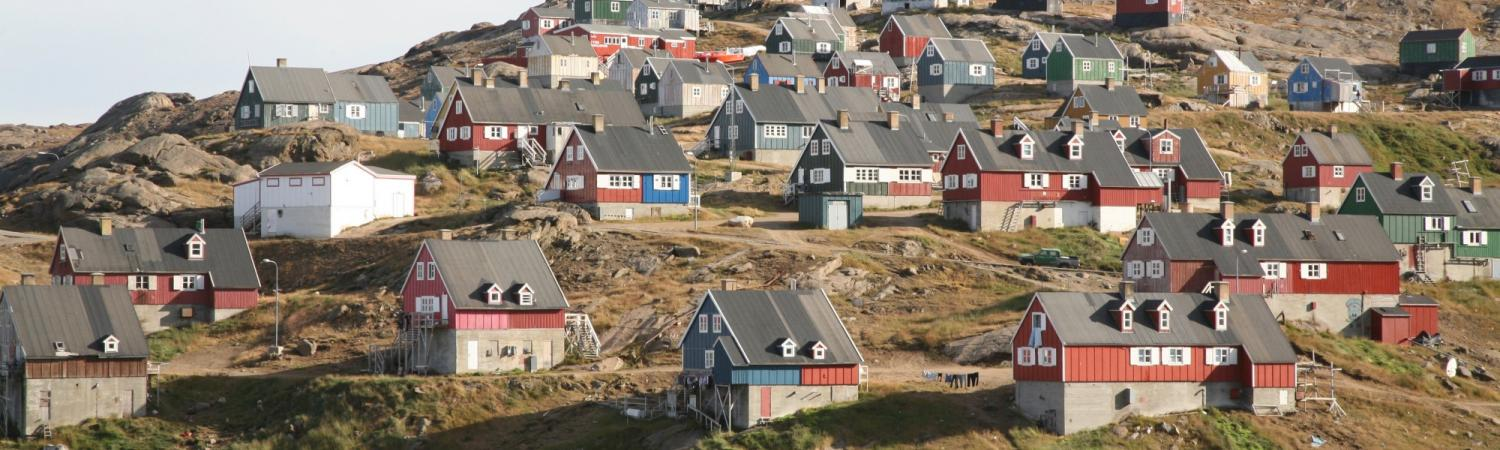Enjoy the unique towns of Greenland.