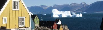 Unique houses in Greenland.