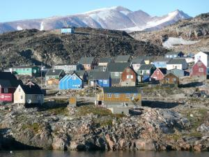 Unique villages of Greenland.
