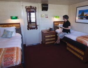 SS Legacy's Admiral Stateroom