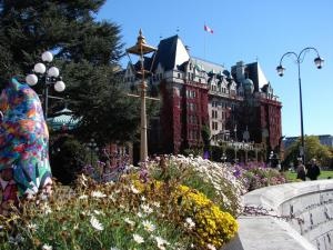 The Fairmont Empress Hotel in British Columbia.