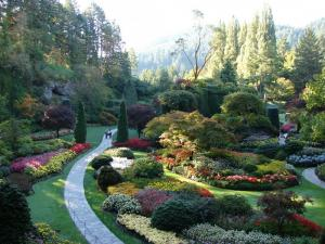 The Butchart Gardens in British Columbia.