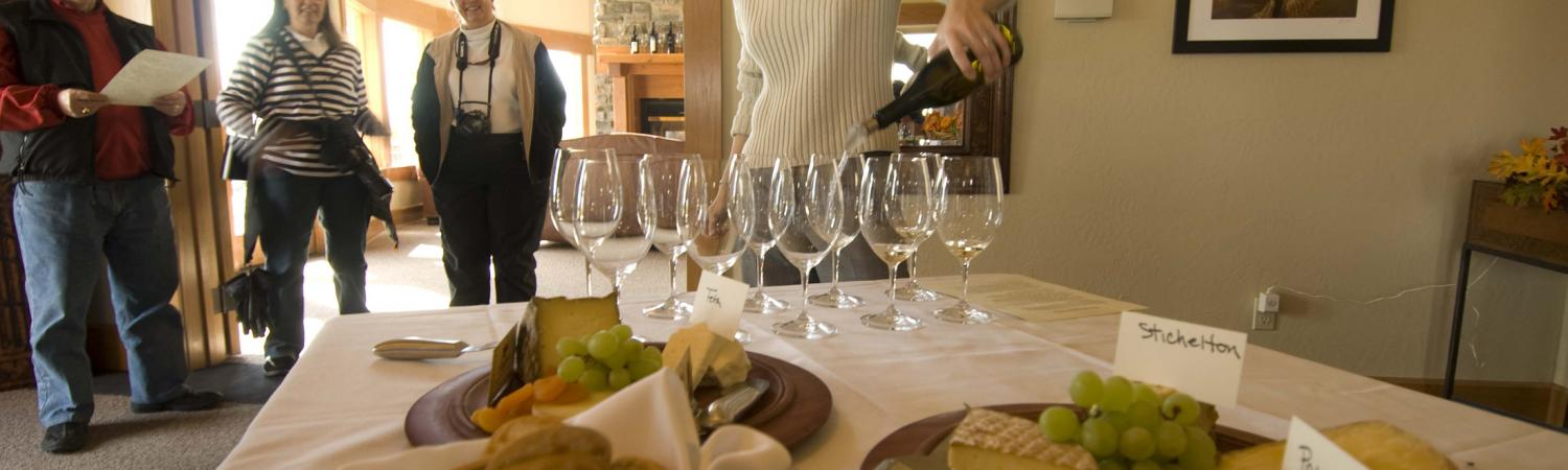 Enjoy a tasting at a local winery.