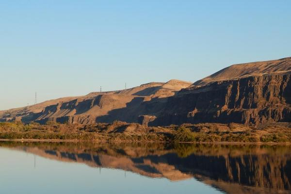 View on the Columbia River.