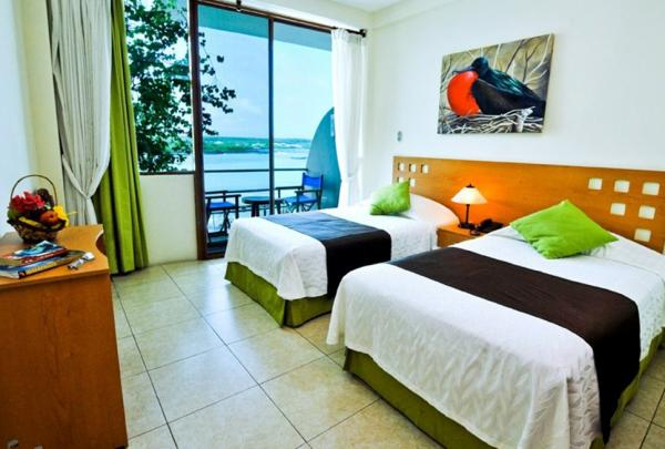 Comfortable, well-appointed rooms at Hotel Sol y Mar