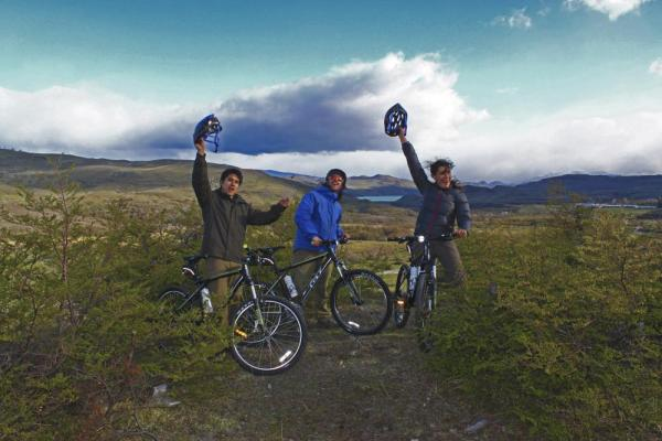Explore Patagonia on a bicycle tour