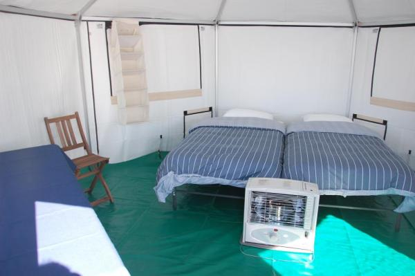 Your comfortable and warm yurt at Premium Safari Camp