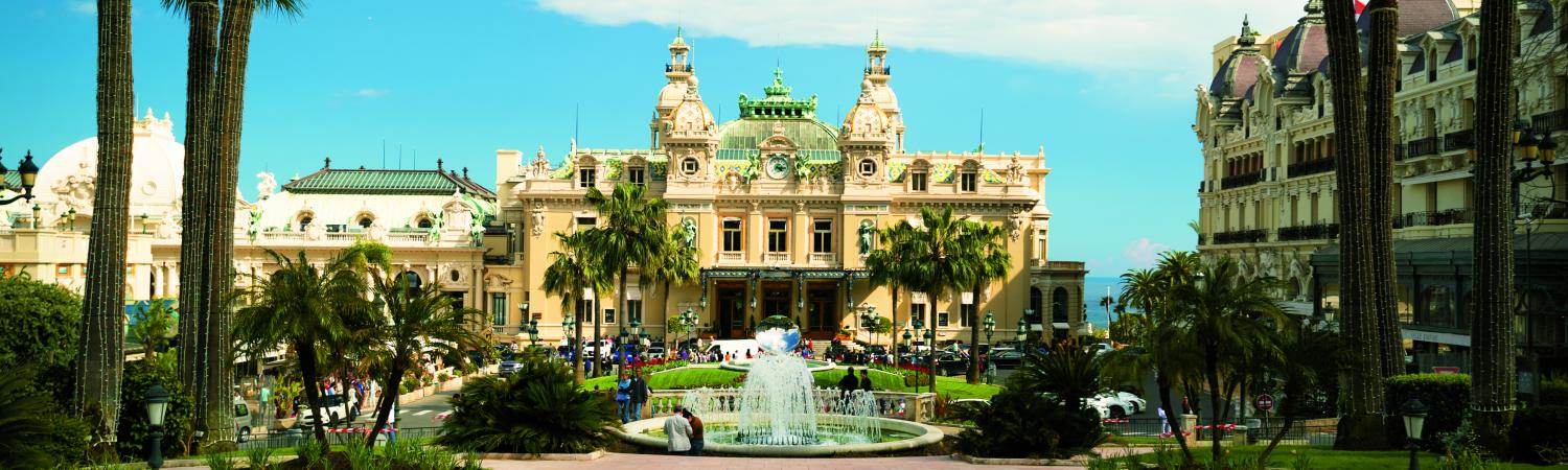 The Grand Casino in Monte Carlo.