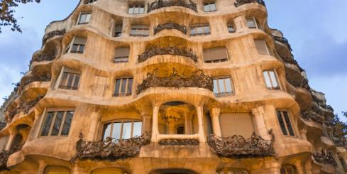 Visit the unique Casa Mila in Barcelona