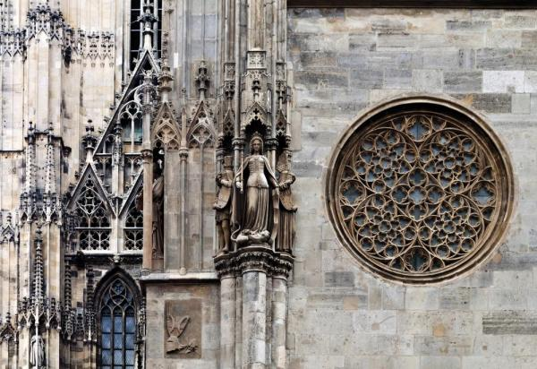 Saint Stephens Cathedral in Vienna