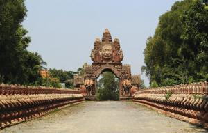 The Gate at Prasat Vimean Suor in Cambodia