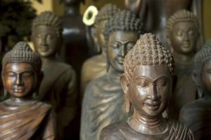 Buddist sculptures