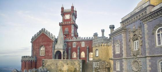 The Pena National Palace in Portugal