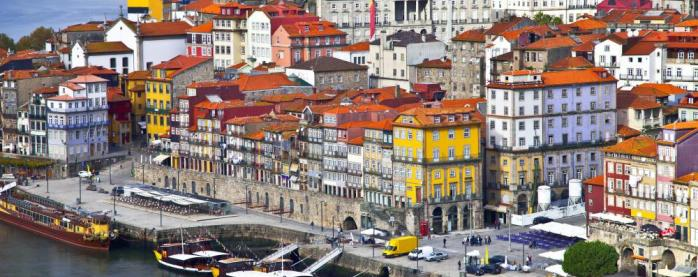Portuguese city on the river