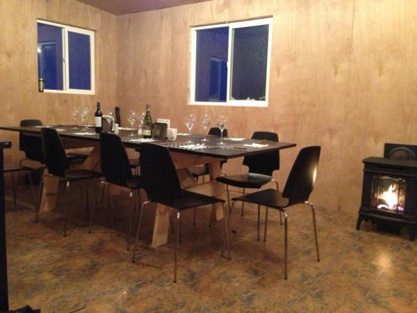 The dining cabin at Arctic Kingdom's Polar Bear Cabins