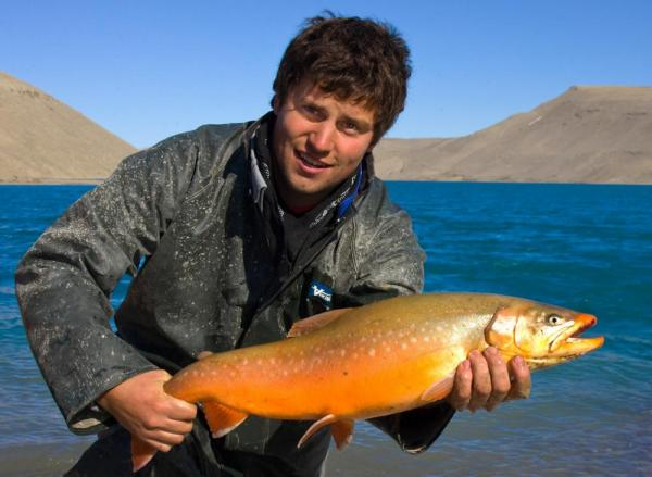 Enjoy great fishing during your stay at Arctic Watch
