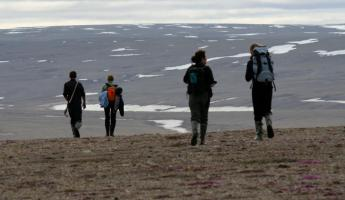 Hike the pristine scenery at Arctic Watch