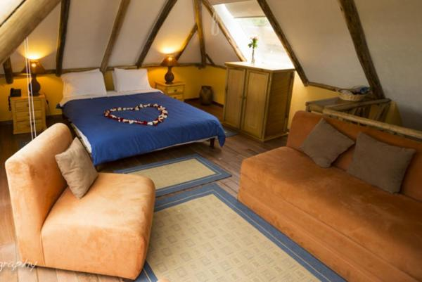 Comfortable accomodations at the base of Cotopaxi at Hacienda El Porvenir