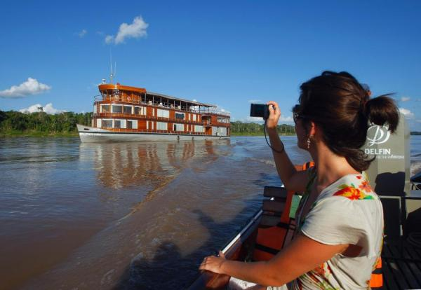 Explore the Amazon on the Delfin