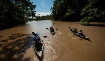 Canoe up the Amazon on your small ship cruise