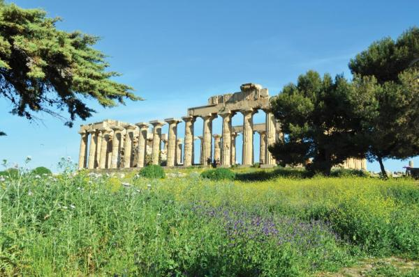 The Temple of Hera at Selinunte.