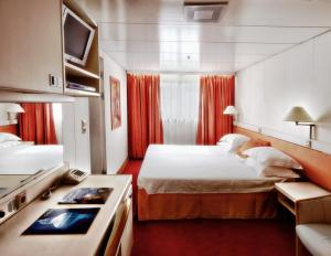 Ocean Diamond's Single Cabin.