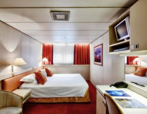Ocean Diamond's Single Porthole Cabin.