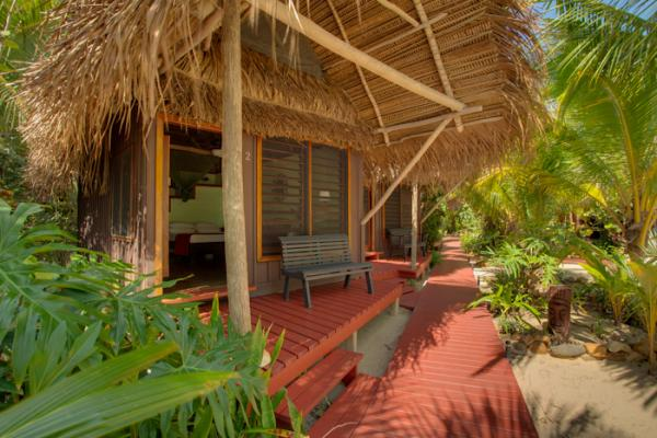 Your cabana at Singing Sands Resort