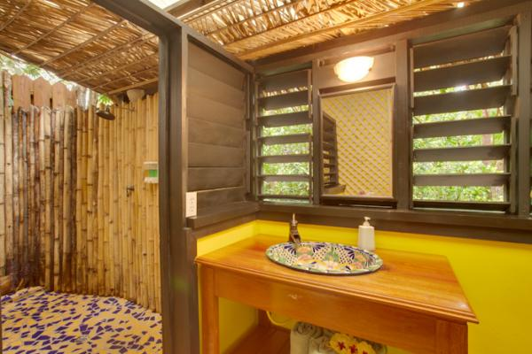 Your luxurious bathroom at Singing Sands Resort